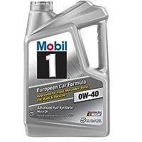 Mobil 1 120760 Synthetic Motor Oil (5-Quart)