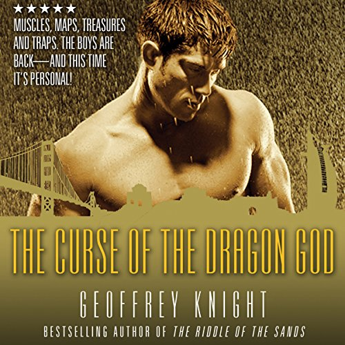 The Curse of the Dragon God audiobook cover art