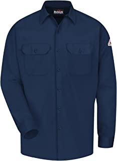 Bulwark FR mens Bulwark® Men's Midweight Excel FR® ComforTouch® Work Shirt Shirt (pack of 1)