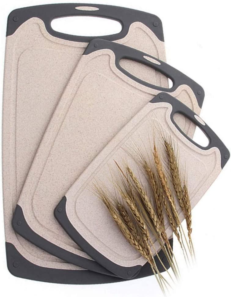 FLYINGSEA Cutting Boards For Virginia Beach Mall Anti-Skid Kitchen Straw Sales for sale Eco-Wheat