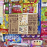VINTAGE CANDY CO. 1970s RETRO CANDY GIFT BOX...