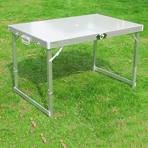 GXCBHIUBUI GXC klaptafel voor buiten, hoogwaardig, opklapbaar, van aluminiumlegering, draagbaar