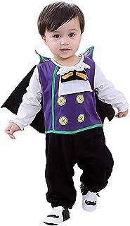 MOMBEBE COSLAND Baby Jungen Halloween Vampir Kostüm Strampler Set
