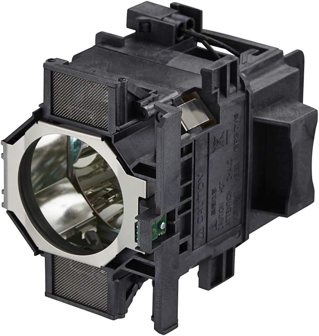 PHO Genuine Original Replacement Bulb / Lamp with Housing for EPSON H606A H607A H608A H609A H610A H611A H615A H616A Projector (OEM Bulb Inside)