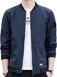 JHIJSC ジャケット MA-1 メンズ コート ブルゾン カジュアル 無地 おしゃれ 春秋 おおきいサイズ