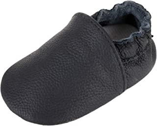 YUNTEN Baby Girls Boys Shoes Leather Crawling Slipper Infant Moccasins Slip On Loafer