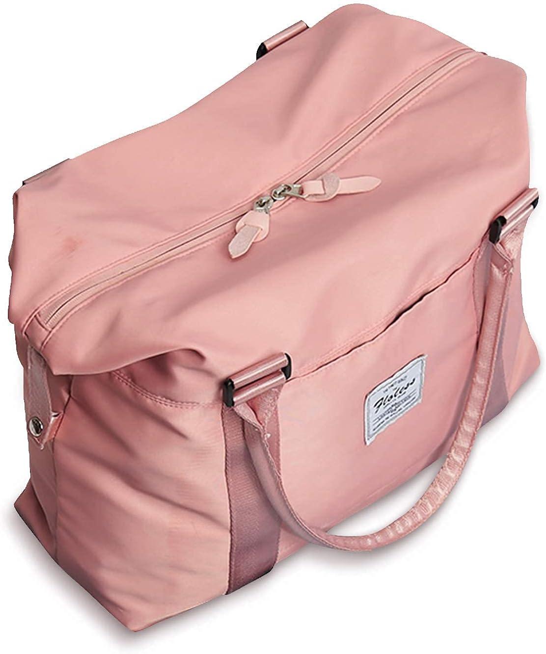 Bolsa de viaje para deportes, gimnasio, deportes, bolso de hombro, bolsa de fin de semana al aire libre, bolsa de viaje para computadora portátil de 15.6 pulgadas para mujer