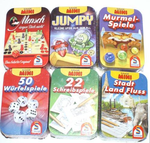 Schmidt Spiele LachenLachen für Kinder - Mini Spiel in der Blechdose