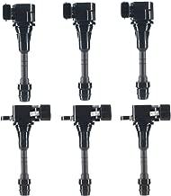 A-Premium Ignition Coils Pack for Nissan Altima Frontier Maxima Murano Pathfinder Quest Xterra Infiniti I35 QX4 Suzuki Equator 3.5L 4.0L 6-PC Set - coolthings.us