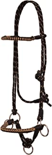Mustang Side Pull Rope Halter with Braided Nose