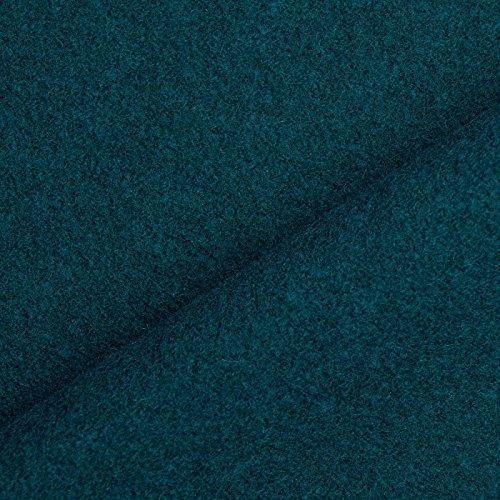 Benedict - Wollstoff aus 100% Wolle, schwer & blickdicht, 1. Wahl - Meterware (petrol)