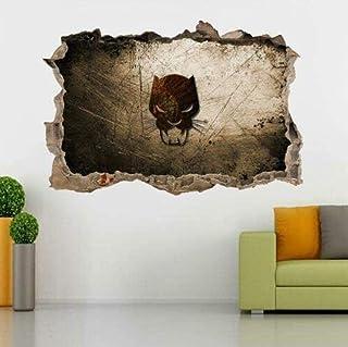 ملصق حائط بطبعة ملصق النمر الأسود