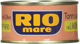Rio Mare Tuna in Olive Oil with Lemon & Pepper, 80g x3