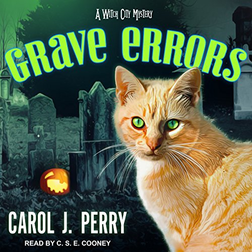 Grave Errors     A Witch City Mystery, Book 5              By:                                                                                                                                 Carol J. Perry                               Narrated by:                                                                                                                                 C.S.E. Cooney                      Length: 9 hrs and 53 mins     74 ratings     Overall 4.5