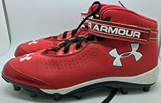 552522635 2012 Bryce Harper Game Used Worn Under Armour Rookie Cleats MEARS Authentic