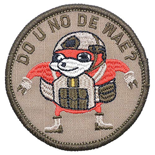 """Ugandan Knuckles""""Do You Know De Wae Patch, Round Patch Combat Bagde Military Patch Tactical Military Patch Set Hook/Loop Backing -3 inch Hat Patch"""