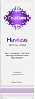 Fake Bake Flawless Self-Tanning Liquid Spray 6 oz (Pack of 2)