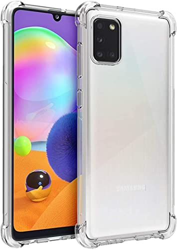 Amazon Brand Solimo Mobile Cover Soft Flexible Shockproof Back Case with Cushioned Edges Transparent for Samsung Galaxy M02s