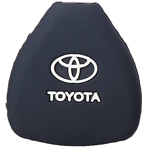 ATZ Silicone Key Cover for Toyota Innova (Black)