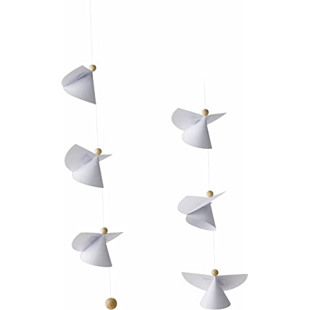 Guardian Angels Hanging Mobile - 14 Inches - Handmade in Denmark by Flensted