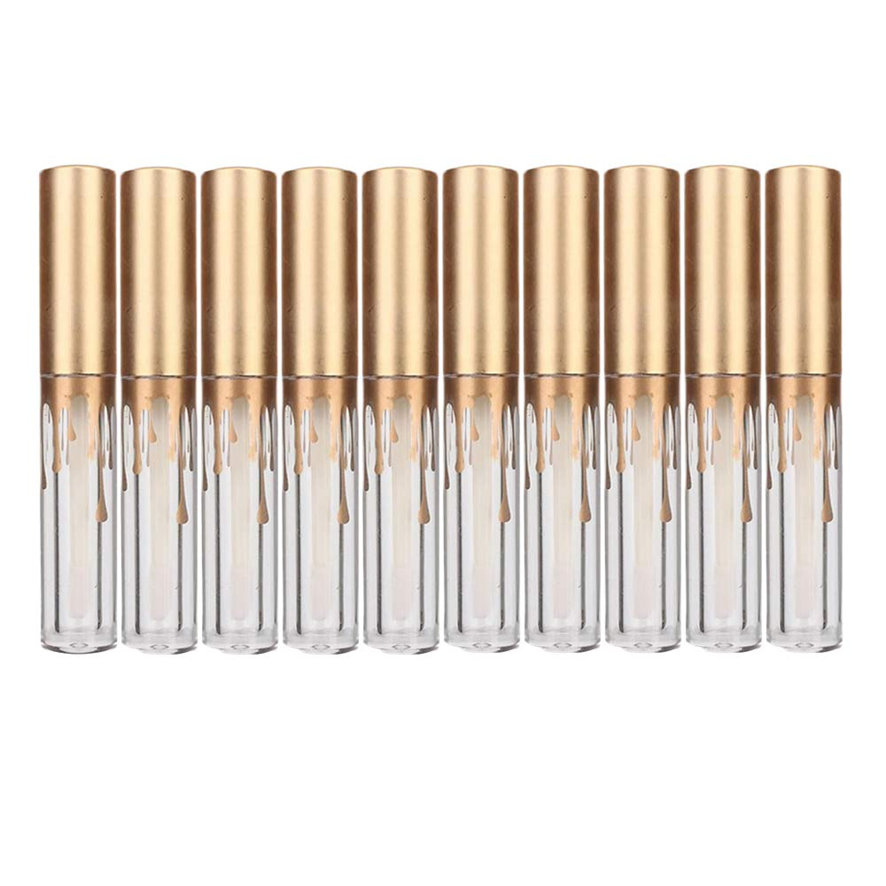 YAIKOAI 10 Pieces Refillable OFFicial mail order 25% OFF Lip Small Gloss Empty Gla Tubes