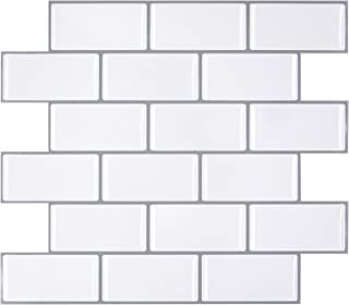 Peel and Stick Backsplash Tiles Premium Kitchen Backsplash, Stick on Wall Tiles 3D Wall..