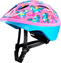 OutdoorMaster Toddler Bike Helmet - CPSC Certified Multi-Sport Adjustable Helmet for Children (Age 3-5), 14 Vents Safety & Fun Print Design for Kids Skating Cycling Scooter