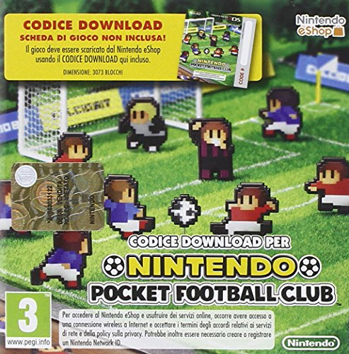 NINTENDO 3DS POCKET FOOTBALL CLUB
