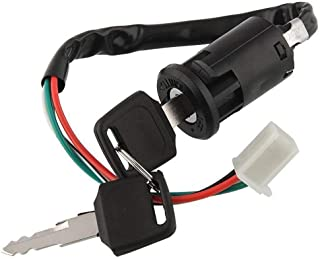 50cc Ignition Switch Key Lock 4 Wire for 70cc 90cc 110cc 150cc 200cc 250cc Chinese ATV Dirt Bike Quad by Swess