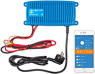 Victron Energy BPC122513006 Blue Smart IP67 Cargador 12/251 230 V CEE 7/7, 12V/25A