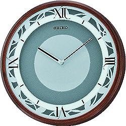 Seiko QXS004BRH Emotional Japanese Quartz Wall Clock