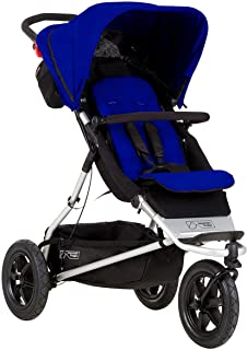 Mountain Buggy +One Stroller with Second Seat & Cocoon, Marine