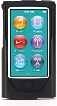 Griffin 2-in-1 Belt Clip Case for iPod Nano (7th gen.) with Shock Absorbing Silicone, Black