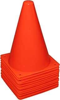 Reehut 7.5 Inch Plastic Sport Training Traffic Cone - 4 Colors