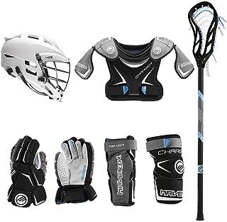 Lacrosse Unlimited Maverik Charger EKG Youth Starter Set W/Complete Stick (Cascade CS-R)
