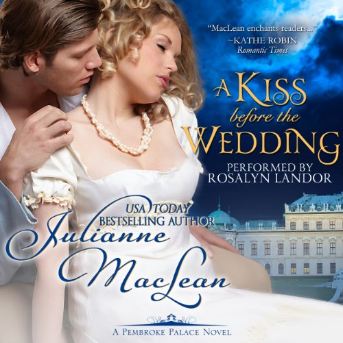 A Kiss Before the Wedding audiobook cover art