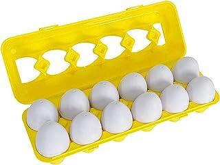 koolsoo Kids Montessori Matching Eggs Educational Learning Toys - Color and Shape, 30x10x7cm