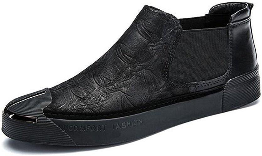 Hommes Chaussures Décontractées Mocassins Plat Chaussures De Pont Britannique Style Trainers Chaussures Mode Chaussures De Course Printemps GLSHI