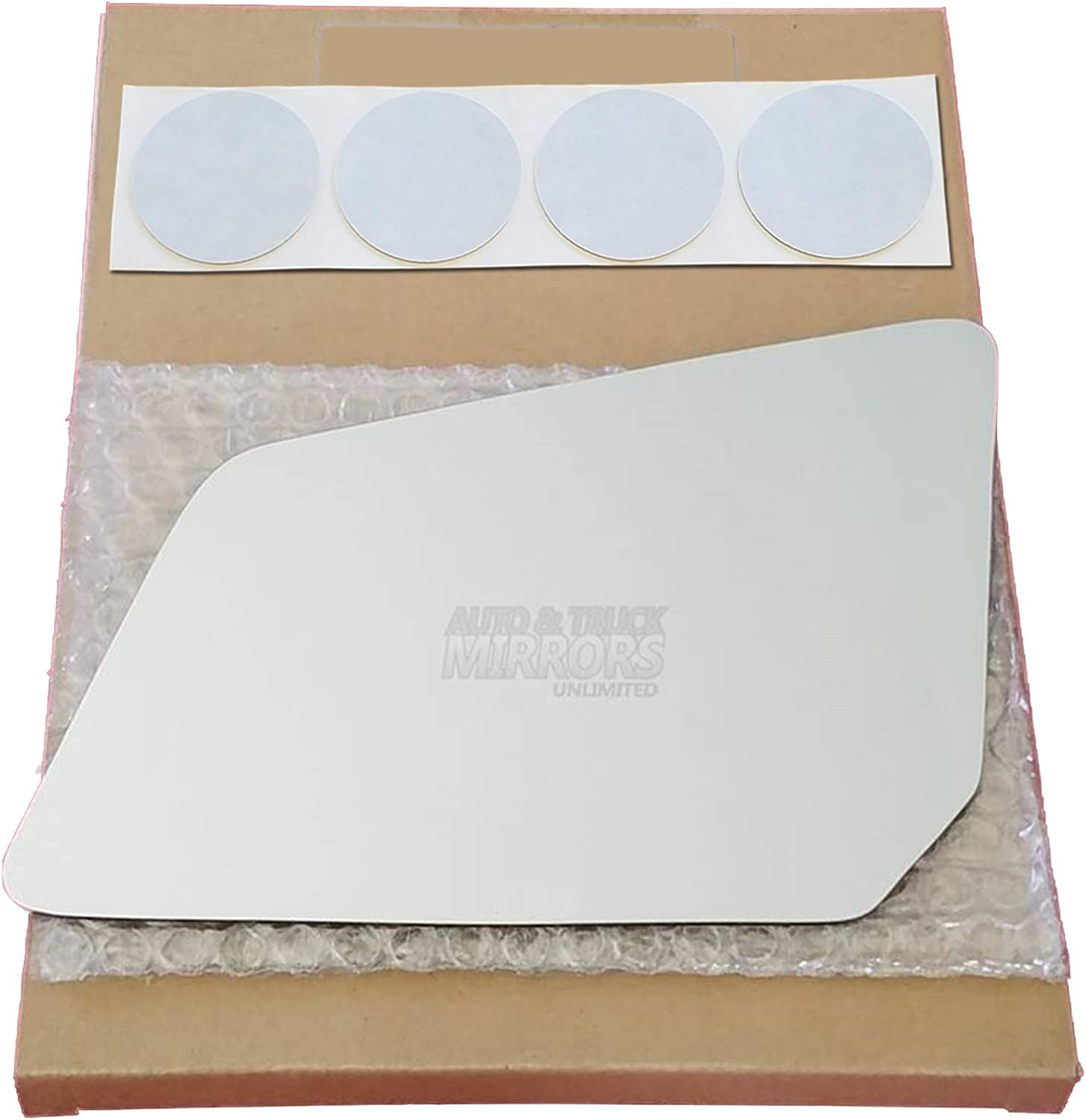 Mirror Glass Replacement + Adhesive 2007-2016 Acadi for Pads Rare GMC