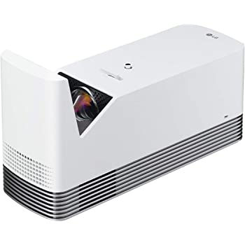 LG HF85LA Ultra Short Throw Laser Smart TV Home Theater CineBeam Projector Class 1 laser product White