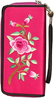 HangErFeng Women's Handbag Silk Hand Embroidered Chinese Wallet Gift Packaging H1063