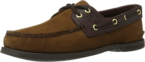 Sperry Top-Sider Hommes's a O 2-Eye Boat chaussures, marron marron marron Buck marron, 6.5 Wide US 082
