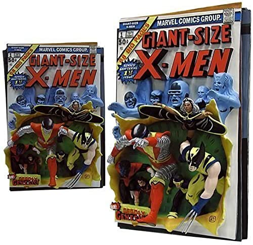 Code 3 - Giant Größe X-Men Resin 3D-Poster First Apperance Comic Cover by Code 3