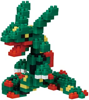 Nanoblock NBPM_064 Pokemon Rayquaza Building Kit