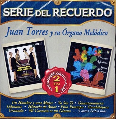 Juan Torres y su Organo Melodico (Serie del Recuerdo 2 en 1 Sony-555826)