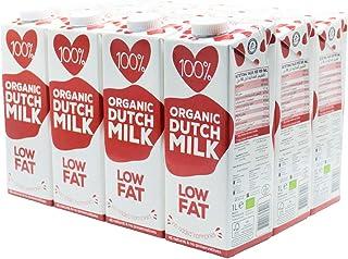 100%. Organic Low Fat Milk 12x1L Low Fat No Added Hormones All Natural No Preservatives EU Certified Organic
