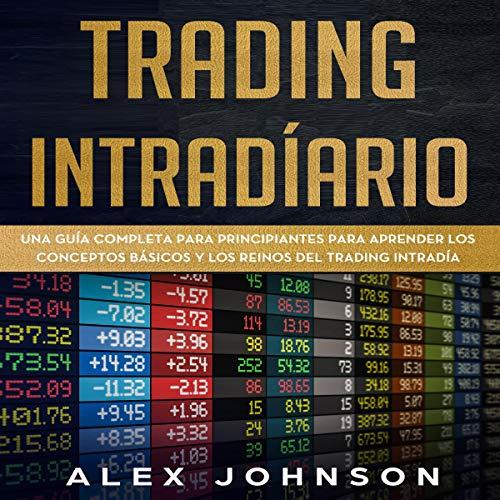 Diseño de la portada del título Trading Intradíario