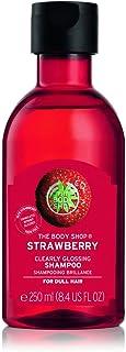 The Body Shop Strawberry Clearly Glossing Shampoo, 8.4 Fl Oz (Vegan)