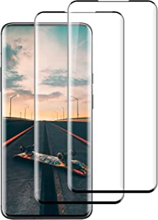 Compatible with Oneplus 7pro/7t pro Screen Protector,HilenyTempered Glass for OnePlus 7 Pro [2-Pack] [Anti-scratches] Prot...