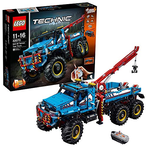 "LEGO Technic 42070 - ""Allrad-Abschleppwagen Konstruktionsspiel, bunt"